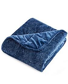 Velvet Weighted Throw Blanket