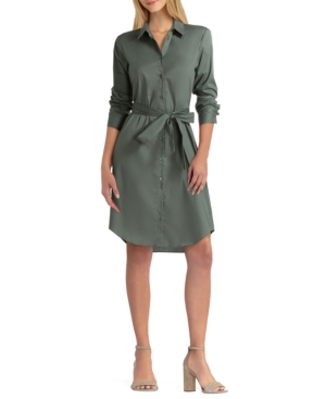 Women's Long Sleeve Shirt Dress