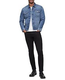 Men's Stretch Essential Denim Trucker Jacket