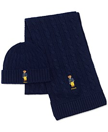 Men's Classic Cable Bear Gift Set