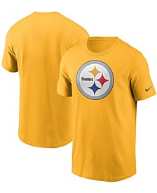 Men's Gold Pittsburgh Steelers Primary Logo T-shirt