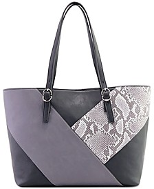 Patchwork Work Tote, Created for Macy's