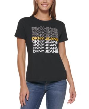 Multiple-Logo-Graphic T-Shirt