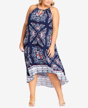 Plus Size Lorelei Midi Dress