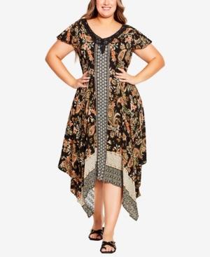 Plus Size Rylan Crochet Dress