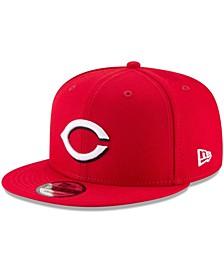 Men's Cincinnati Reds Team Color 9FIFTY Snapback Hat