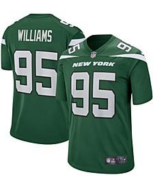Men's Quinnen Williams New York Jets Nike Game Player Jersey - Gotham Green