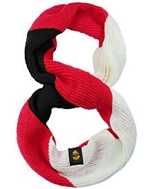 FOCO Women's Chicago Blackhawks Colorblock Knit Infinity Scarf