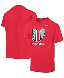 Youth Ohio State Buckeyes Student Body Fan T-Shirt