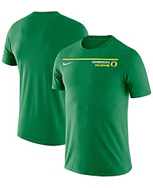 Men's Green Oregon Ducks Icon Word T-Shirt
