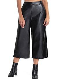 Women's Crop Wide Leg Pant