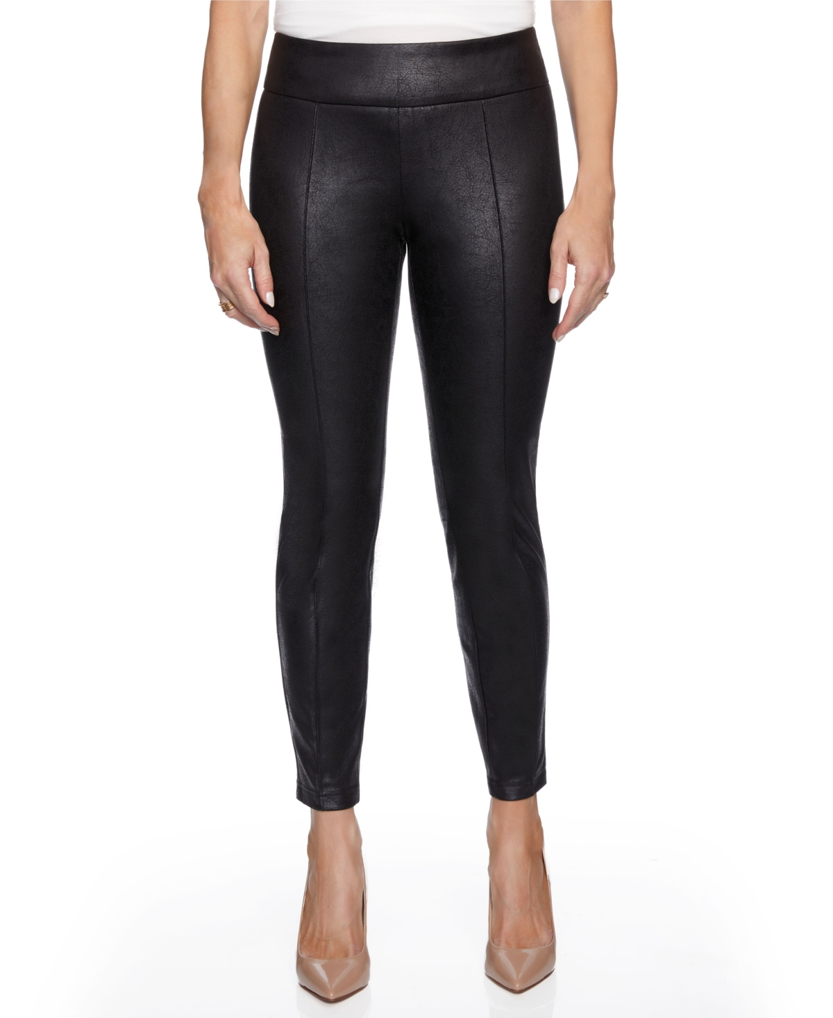 Women's Skinny with Embossed Fabric Pants
