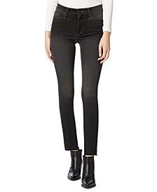 Lara Mid-Rise Straight-Leg Jeans