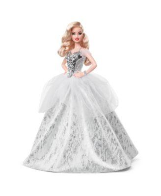 Barbie 2021 Holiday Wavy Blonde Hair Barbie Doll
