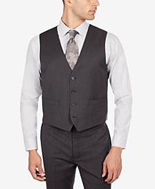 Men's Slim Fit Mini Check Vest