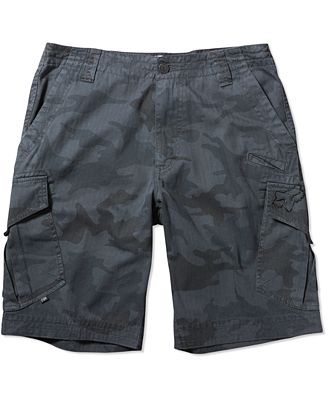 Fox Men's Slambozo Camo Cargo Shorts - Shorts - Men - Macy's