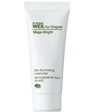 Receive a Free Dr. Weil Mega Bright Moisturizer 15ml with $6