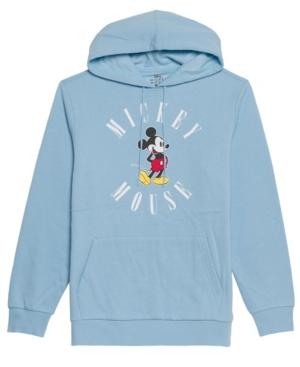 Men's Nineties Mickey Mouse Hooded Fleece Sweatshirt