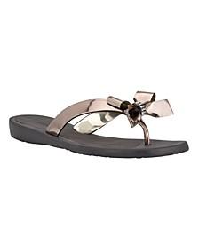 Women's Tutu Bow Flip Flop