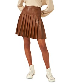 Saratoga Pleated Mini Skirt, Created for Macy's