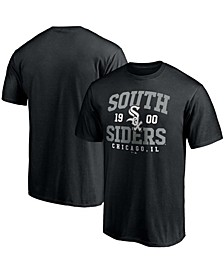 Men's Black Chicago White Sox South Siders Hometown Collection T-shirt