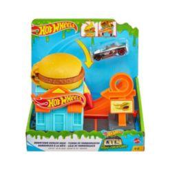 Hot Wheels Downtown Burger Dash Play Set