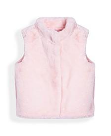 Little Girls Faux Fur Vest