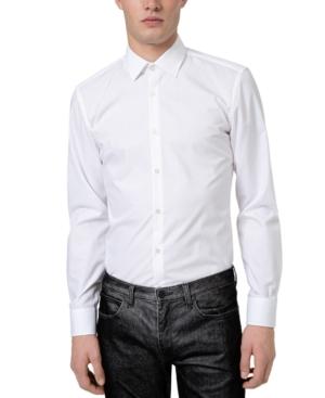 Men's Koey Slim-Fit Solid Dress Shirt