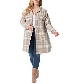 Trendy Plus Size Romi Shirt Jacket