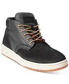 Men's Nubuck & Canvas Sneaker Boot