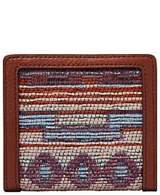 Logan Fabric Small Bifold Wallet