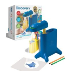 Discovery Kids Art Tracing Projector Kit, Set of 44