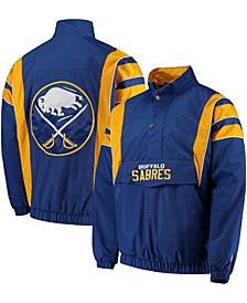 Men's Royal Buffalo Sabres Impact Half-Zip Jacket