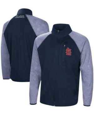 Men's Navy St. Louis Cardinals Freestyle Transitional Raglan Full-Zip Jacket