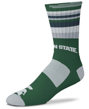 Men's and Women's Green Michigan State Spartans Rave Crew Socks
