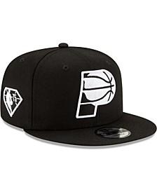 Men's Black Indiana Pacers 2021 NBA Draft Alternate 9Fifty Snapback Hat
