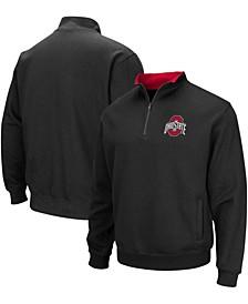 Men's Black Ohio State Buckeyes Tortugas Team Logo Quarter-Zip Jacket