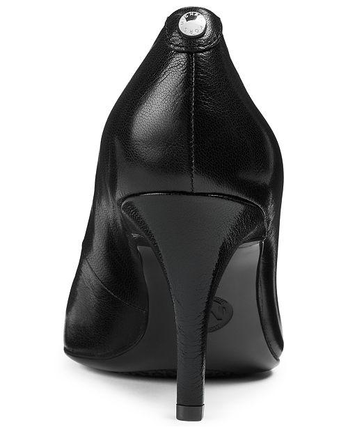 3d9517c642 Michael Kors MK Flex Mid Pointed-Toe Pumps & Reviews - Pumps - Shoes ...