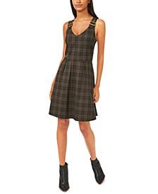 Diana Plaid A-Line Dress, Created for Macy's
