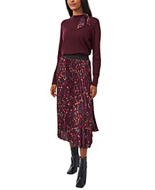 Avery Pleated Maxi Skirt, Created for Macy's
