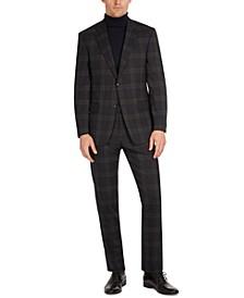 Men's Modern-Fit Wool Suit Jacket & Pants