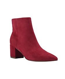 Women's Jelly Block Heel Booties