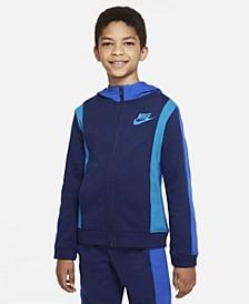 Big Boys Sportswear Amplify Full-zip Hoodie
