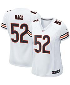 Women's Khalil Mack White Chicago Bears Player Game Jersey