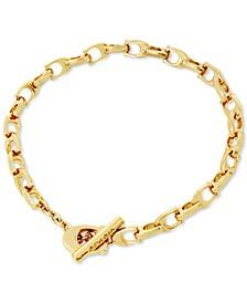 Gold-Tone Signature C-Chain Link Bracelet