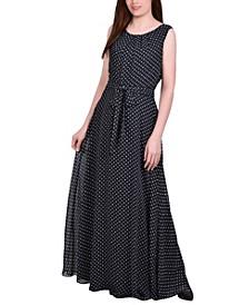 Women's Chiffon Maxi Dress