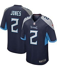 Men's Julio Jones Navy Tennessee Titans Game Jersey