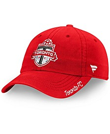 Women's Red Toronto FC Fundamental Adjustable Hat