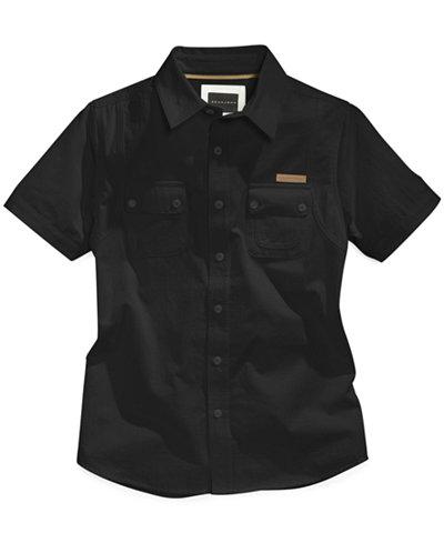 Sean John Flight Woven Shirt, Big Boys