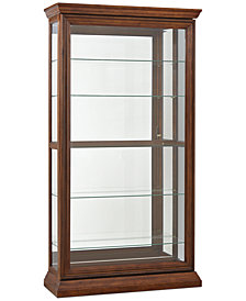 Daviston Dual Sliding Door Curio
